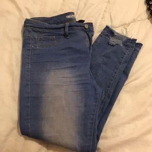 high rise cropped jegging